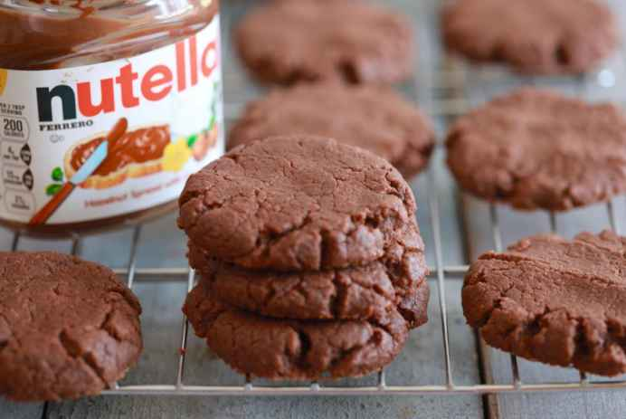 Nutella-Cookie-4- ingredients